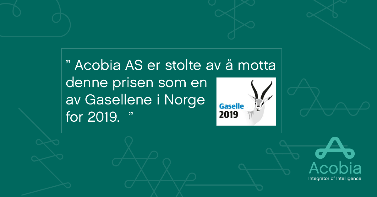 Gaselle 2019 Acobia AS