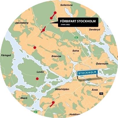 Förbifart stockholm Acobia